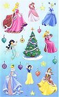 Christmas Disney Princesses Stickers