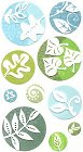 3d Glitter Leaf Seals Stickers
