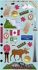 Canada Icons Stickers