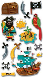 Epoxy Pirates Stickers