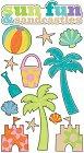 Sun Fun Epoxy Stickers