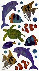Shiny Sea Animals Stickers