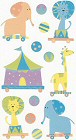 Baby Circus Stickers