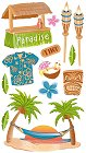 Tropical Paradise Stickers