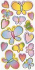 Hearts & Butterflies Stickers