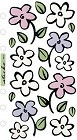 Flower Shower Vellum Stickers