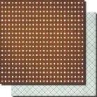 Newport Chestnut Dots Paper