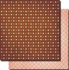 Newport Pink Coral Dots Paper