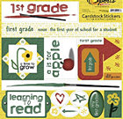 First Grade Stickers