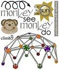 Monkey See Monkey Do Rub-Ons