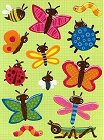 Butterflies Glitter Epoxy Stickers
