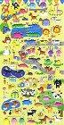 Puffy Fun Animals Kawaii Stickers