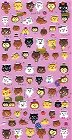 Puffy Bears Kawaii Stickers