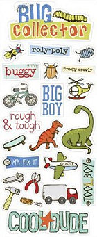 Cool Dude Stickers