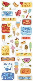Endless Summer Stickers