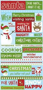 Santas Workshop Stickers