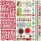 Tis The Season W/ Alphabet Stickers