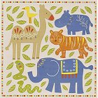 Wild Elephant And Friends Stickers