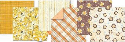Variety Pack 12x12 - Orange