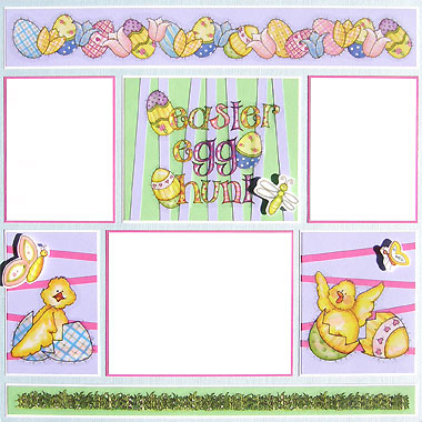 Simple Easter Scrapbooking Ideas