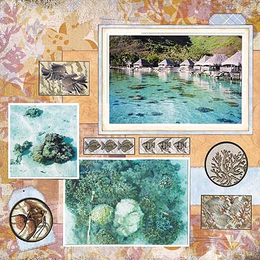 Paradise Scrapbooking Ideas