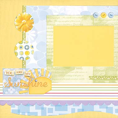Sunshine Scrapbooking Stickers