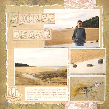 Beach Scrapbooking Ideas