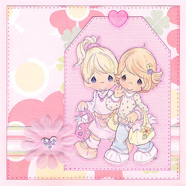 Precious Moments Card Making Ideas