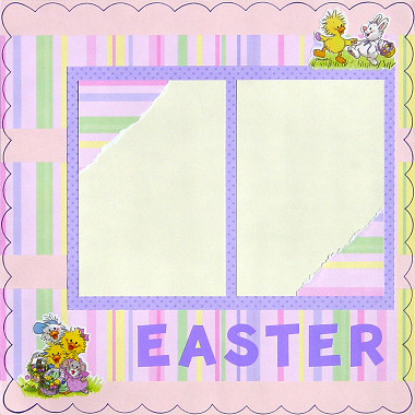 Easter Scrapbooking Ideas
