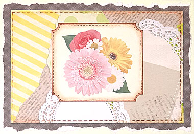 Kawaii Flower Card Making Ideas