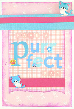 Kawaii Cat Card Making Ideas