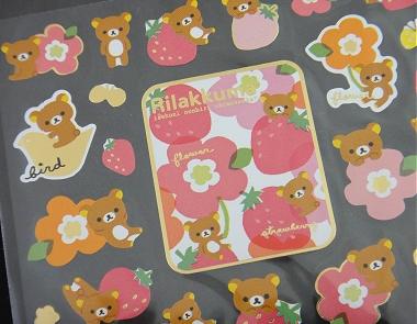 San-X Rilakkuma Stickers