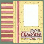 Magic Of Christmas Scrapbooking Idea
