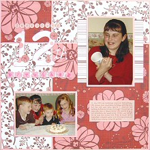 Scrapbooking with Sketches & Chatterbox Papers